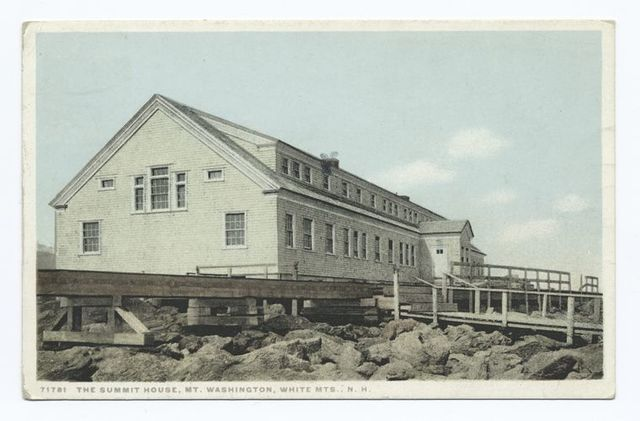 Summit House, Mt. Washington, New Hampshire