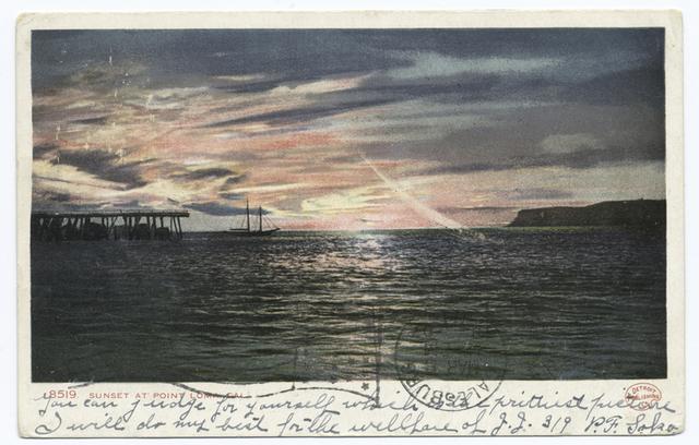 Sunset, Point Loma, Calif.