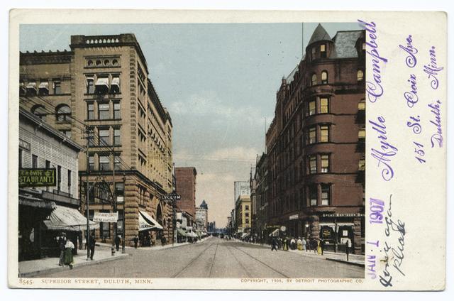 Superior Street, Duluth, Minn.