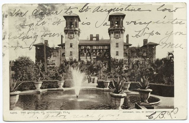 The Alcazar and Annex, St. Augustine, Fla.