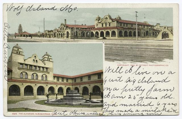 The Alvarado, Albuquerque, N. M.