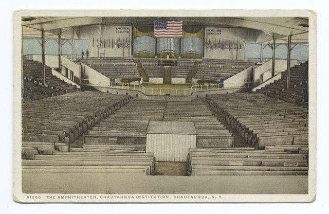 The Amphitheatre, Chautauqua Institution, Chautauqua, N. Y.