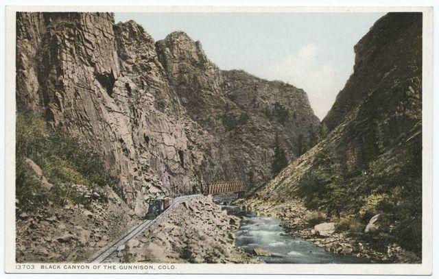 The Black Canyon of the Gunnison, Colorado