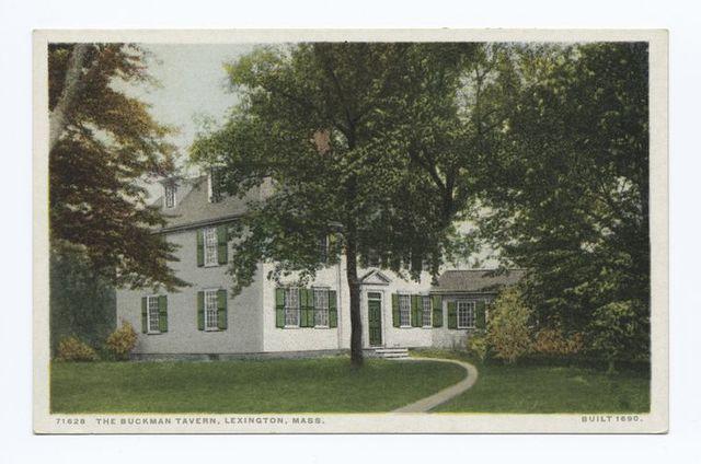 The Buckman Tavern, Lexington, Mass.