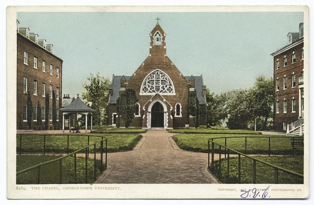 The Chapel, Georgetown Univ., Washington, D. C.