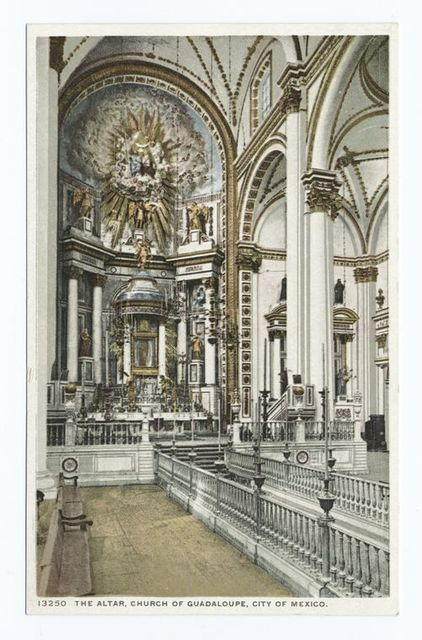 The Church of Guadaloupe, Altar, Mexico City, Mexico