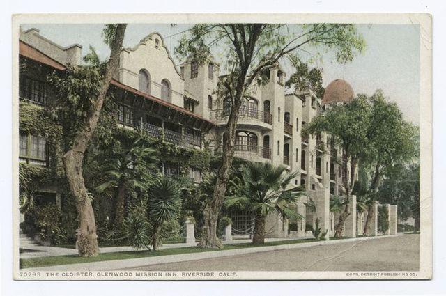 The Cloister, Glenwood Mission Inn, Riverside, Calif.
