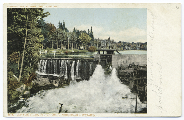 The Dam, Old Forge, N. Y.