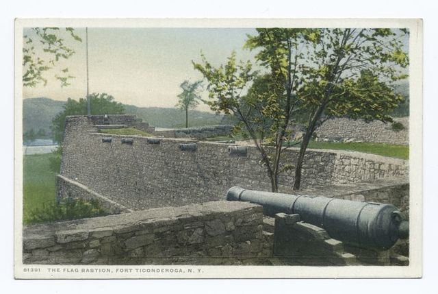 The Flag Bastion, Fort Ticonderoga, N.Y.