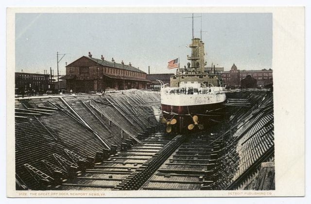 The Great Dry Dock (Shipyard), Newport News, Va.