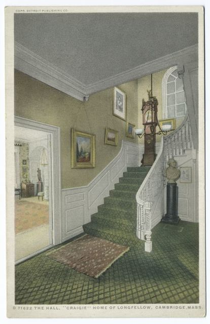 The Hall, Craigie, Home of Longfellow, Cambridge, Mass.