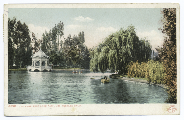 The Lake, Eastlake Park, Los Angeles, Calif.
