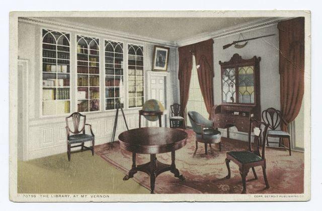 The Library, Mt. Vernon, Va.