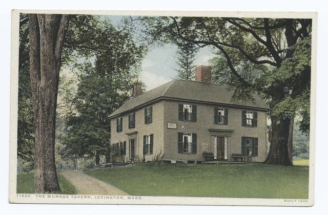 The Munroe Tavern, Lexington, Mass.