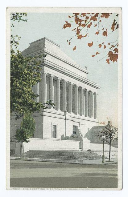 The Scottish Rite Temple, Wshington, D. C.