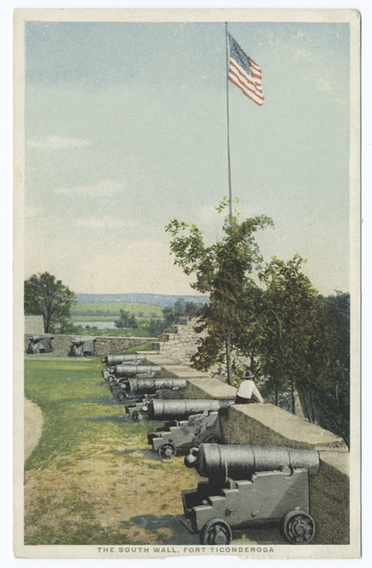 The South Wall, Fort Ticonderoga