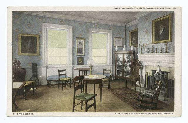 The Tea Room, Washington's Headquarters, Morris-Jumel Mansion