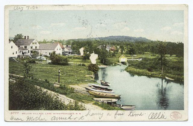 The Village Melvin, Lake Winnipesaukee, N. H.