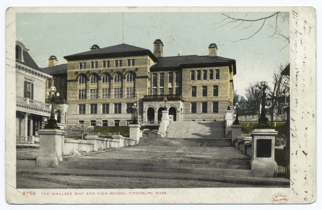 The Wallace Way and High School, Fitchburg, Mass.