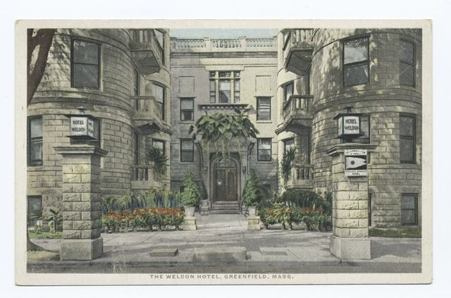 The Weldon Hotel, Greenfield, Mass. - PICRYL Public Domain Search