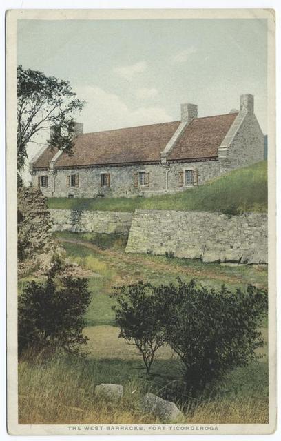 The West Barracks, Fort Ticonderoga