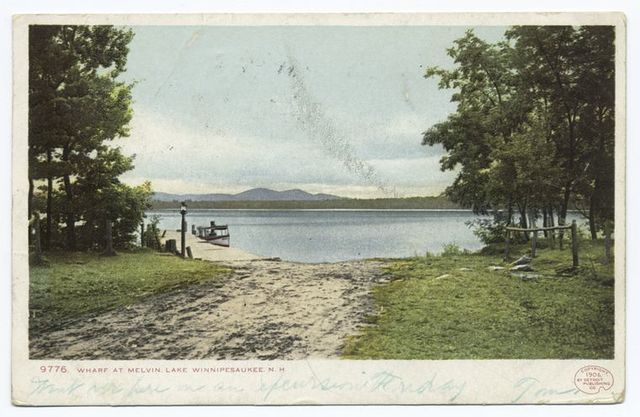 The Wharf, Melvin, Lake Winnipesaukee, N. H.