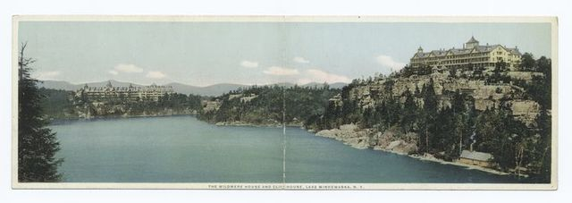 The Wildmere House and Cliff House, Lake Minnewaska, N.Y.