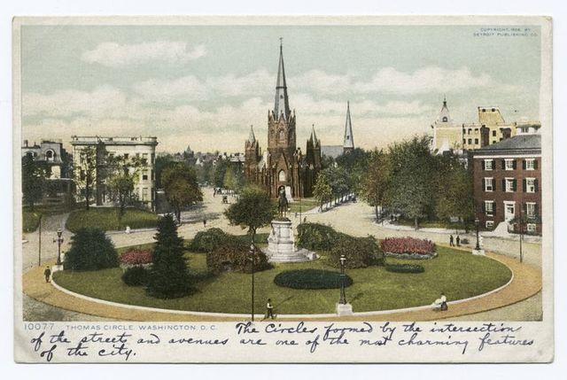 Thomas Circle, Washington, D. C.