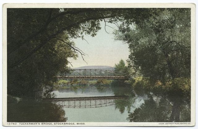 Tuckerman's Bridge, Stockbridge, Mass.