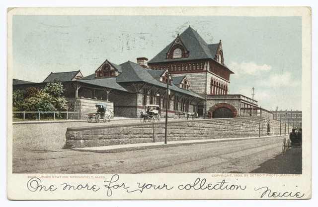 Union Station, Springfield, Mass.