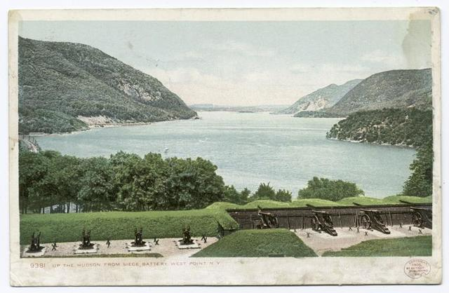 Up the Hudson from Siege Battery, West Point N. Y.