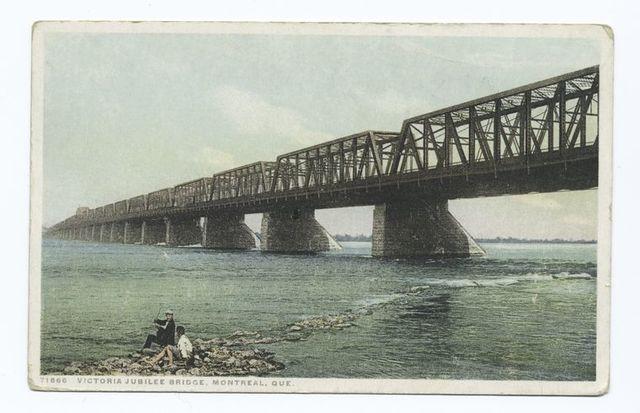 Victoria Jubilee Bridge, Montreal, Que.