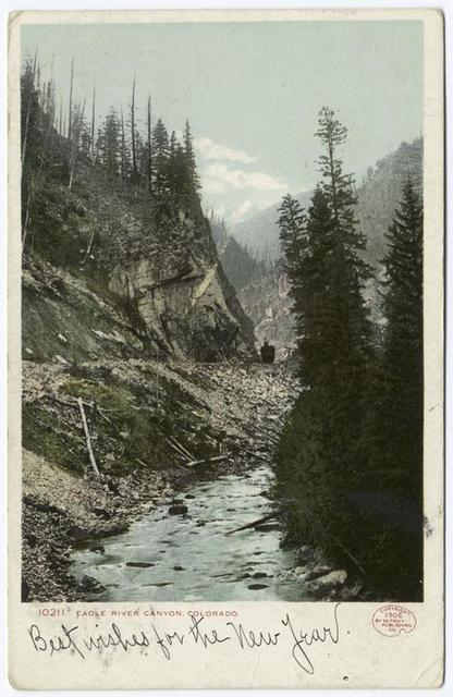 View, Eagle River Canyon, Colo.