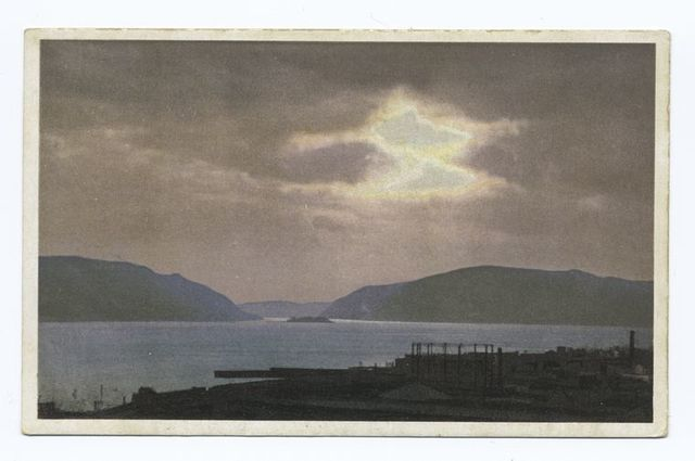 View of the Hudson River from Washington's Headquarters, Newburgh, N.Y.