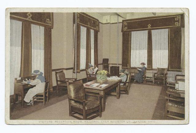 Visitors Reception Room National Cash Register Co., Dayton Ohio