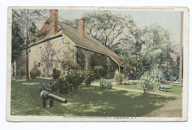 Washington's Headquarters at Newburgh, N.Y.