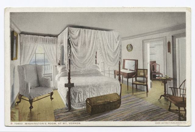 Washington's Room, Mt. Vernon, Va.