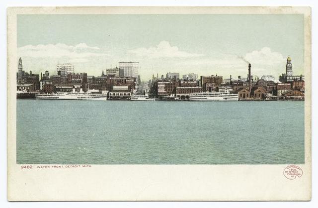 Waterfront, Detroit, Mich.