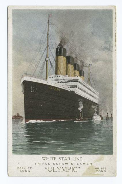 "White Star Line, Triple Screw Steamer ""Olympic"", Ships"