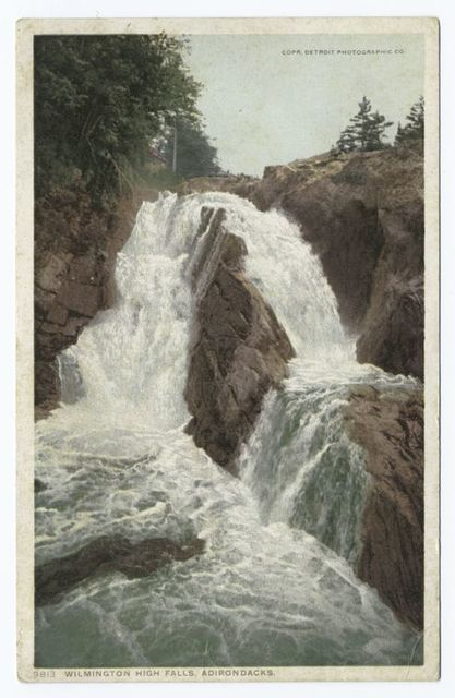 Wilmington High Falls, Lake Placid, N. Y.