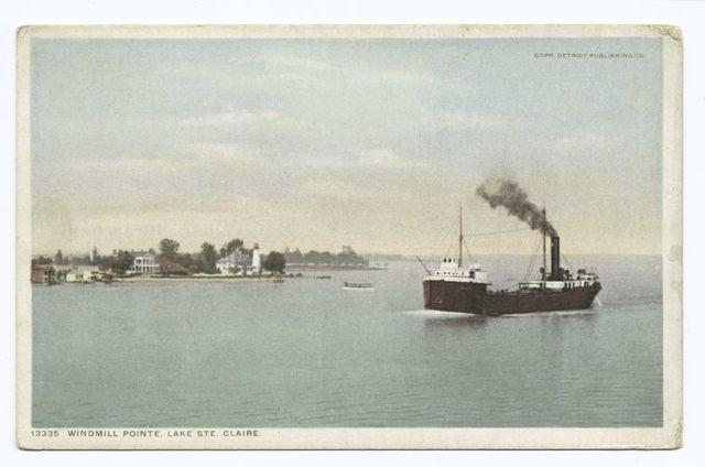 Windmill Pointe, Lake Ste. Claire, Michigan