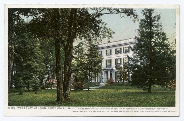 Woodbury Mansion, Portsmouth, N.H.