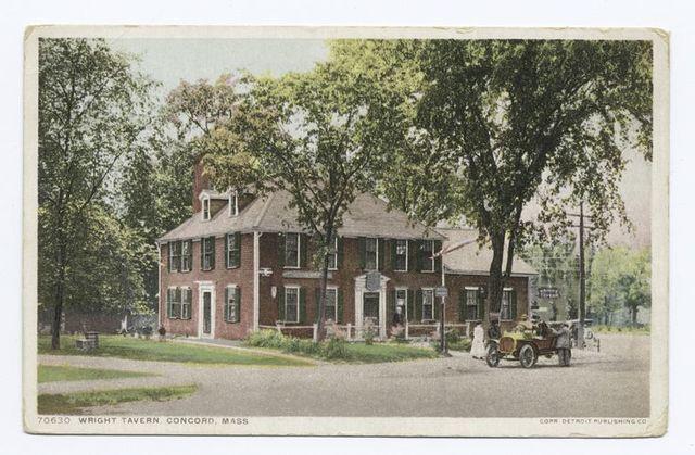 Wright Tavern, Concord, Mass.