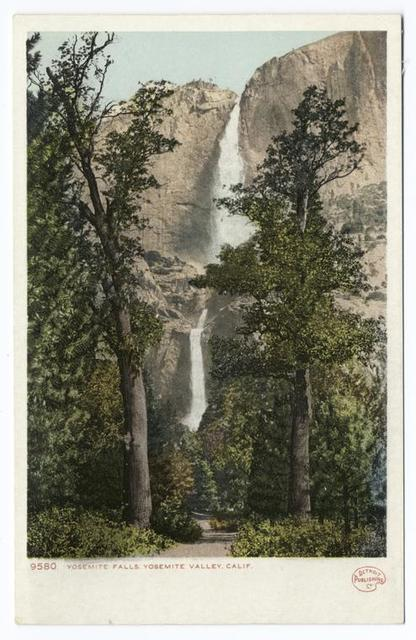 Yosemite Falls, Yosemite Valley, Calif.