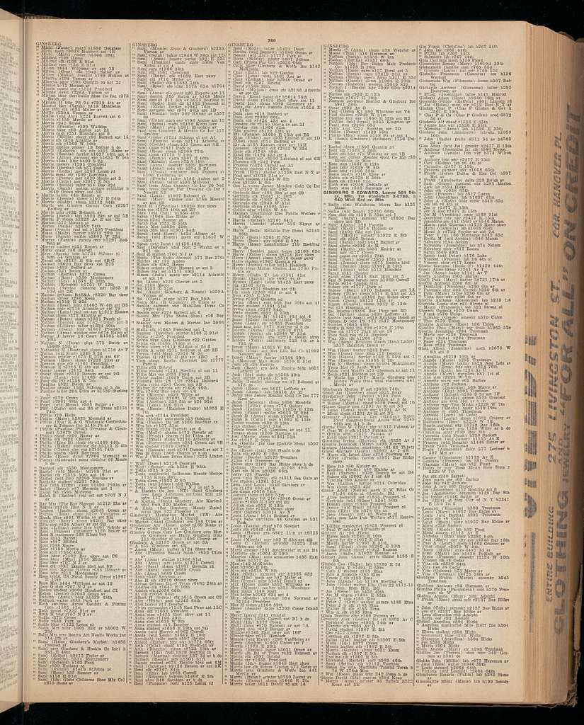 The Brooklyn city directory..., 1933/1934