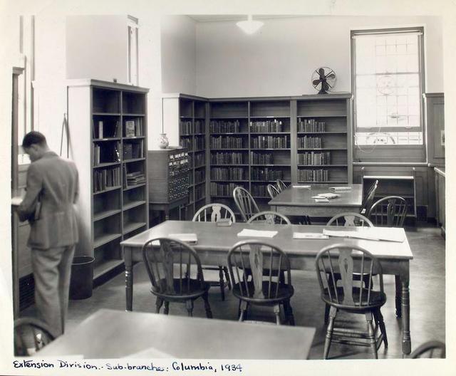 Columbia Sub-branch (Butler Library, Columbia University)