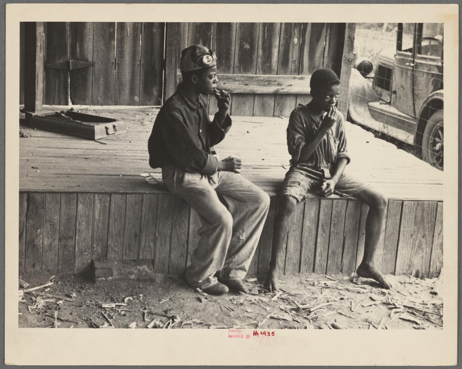 Homeless children, Natchez, Mississippi