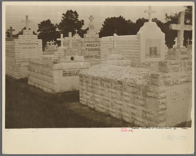 Italian cemetery, Independence, Louisiana