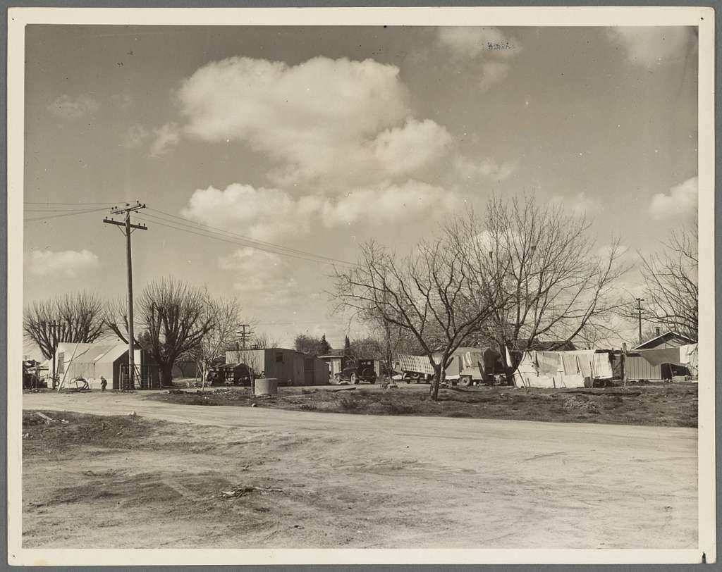Housing for Oklahoma refugees. California, Kern County