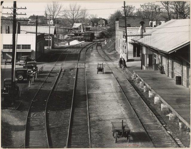 Railroad Station, Edwards, Mississippi